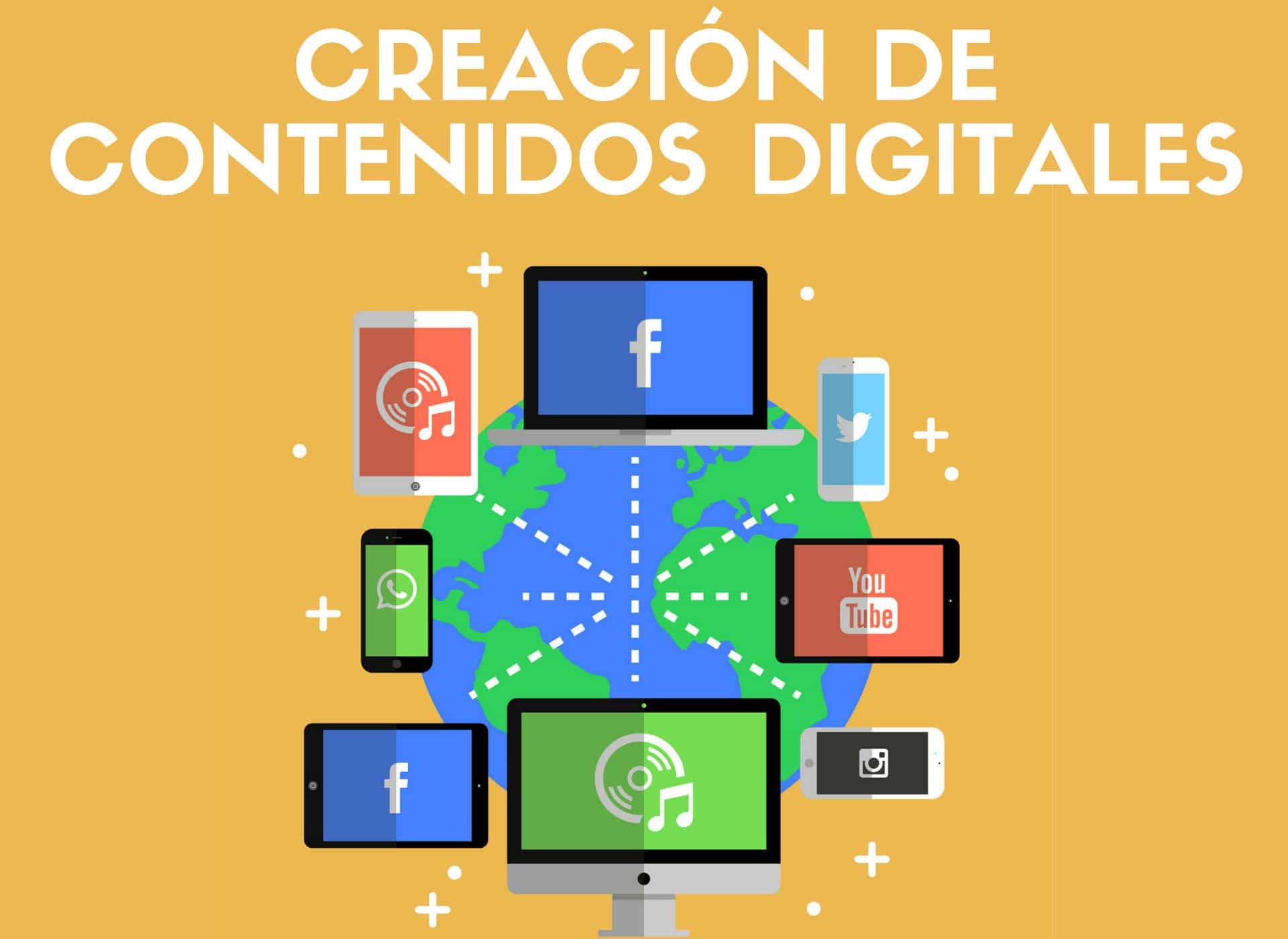 Curso Creación de contenidos para medios digitales