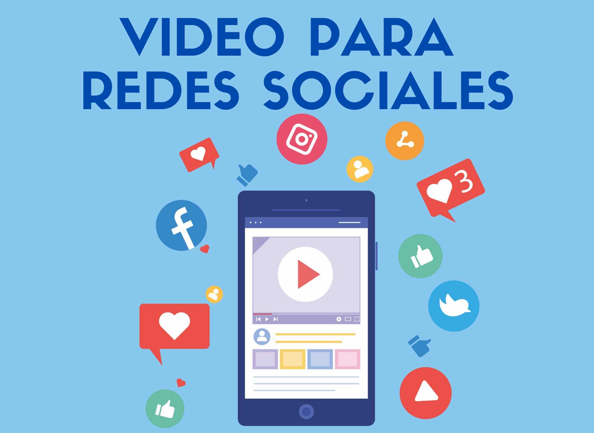 Curso Creación y producción de videos para redes sociales