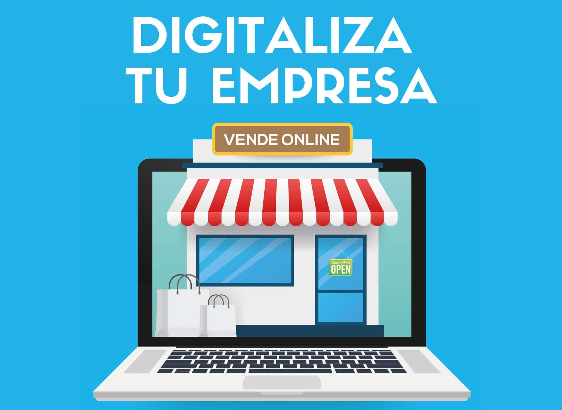 Curso Digitaliza tu Pyme - Empresa - Vende online